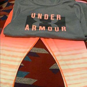 Under Amour Workout Capris size lg
